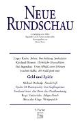Cover-Bild zu Bauer, Martin (Hrsg.): Heft 2: Neue Rundschau 2001/2 - Neue Rundschau Ausgabe 2001