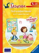 Cover-Bild zu Schulabenteuer zum Lesenlernen - Leserabe 1. Klasse - Erstlesebuch für Kinder ab 6 Jahren von Allert, Judith