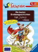 Cover-Bild zu Die besten Erstlesegeschichten für Jungs 1. Klasse mit toller Zaubertafel von Wich, Henriette