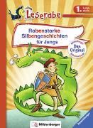 Cover-Bild zu Rabenstarke Silbengeschichten für Jungs - Leserabe 1. Klasse - Erstlesebuch für Kinder ab 6 Jahren von Reider, Katja
