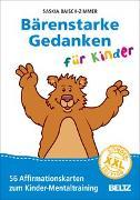 Cover-Bild zu Bärenstarke Gedanken für Kinder XXL-Sonderedition von Baisch-Zimmer, Saskia