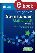 Cover-Bild zu Sternstunden Mathematik - Klasse 2 (eBook) von Gangkofer, U.