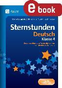 Cover-Bild zu Sternstunden Deutsch - Klasse 4 (eBook) von Gangkofer, Ulrike