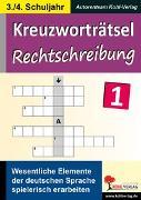 Cover-Bild zu Kreuzworträtsel Rechtschreibung (eBook)