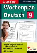 Cover-Bild zu Wochenplan Deutsch / Klasse 9 (eBook)