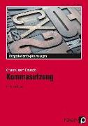 Cover-Bild zu Kommasetzung von Grzelachowski, Lena-Christin