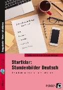 Cover-Bild zu Startklar: Stundenbilder Deutsch 5. Klasse von Grzelachowski, Lena-Christin