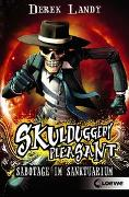 Cover-Bild zu Landy, Derek: Skulduggery Pleasant (Band 4) - Sabotage im Sanktuarium