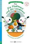 Cover-Bild zu Äsop: Die Stadtmaus und die Landmaus. Buch + Multi-ROM