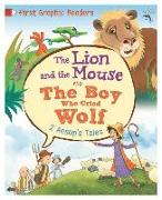 Cover-Bild zu Aesop, Aesop: Aesop: The Lion and the Mouse & the Boy Who Cried Wolf