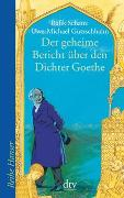 Cover-Bild zu Schami, Rafik: Der geheime Bericht über den Dichter Goethe, der eine Prüfung auf einer arabischen Insel bestand