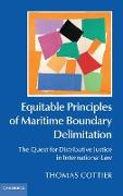 Cover-Bild zu Cottier, Thomas: Equitable Principles of Maritime Boundary Delimitation