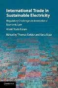 Cover-Bild zu Cottier, Thomas (Hrsg.): International Trade in Sustainable Electricity