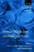 Cover-Bild zu Burgi, Elisabeth (Hrsg.): Human Rights and International Trade