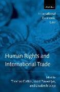 Cover-Bild zu Cottier, Thomas: Human Rights and International Trade