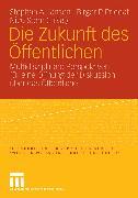 Cover-Bild zu Jansen, Stephan A. (Hrsg.): Die Zukunft des Öffentlichen (eBook)