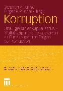 Cover-Bild zu Jansen, Stephan A. (Hrsg.): Korruption (eBook)