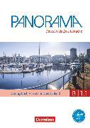 Cover-Bild zu Panorama, Deutsch als Fremdsprache, B1: Teilband 1, Übungsbuch DaZ mit Audio-CD, Leben in Deutschland von Bajerski, Nadja