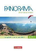 Cover-Bild zu Panorama, Deutsch als Fremdsprache, A1: Teilband 1, Übungsbuch DaZ mit Audio-CD, Leben in Deutschland von Böschel, Claudia