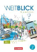 Cover-Bild zu Weitblick, Das große Panorama, B2: Gesamtband, Kursbuch, Mit PagePlayer-App inkl. Audios, Videos und Texten von Bajerski, Nadja