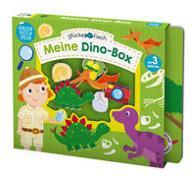 Cover-Bild zu Glücksfisch: Meine Dino-Box von Sagar, Lindsey (Illustr.)