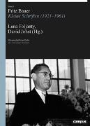 Cover-Bild zu Im Auftrag des Fritz Bauer Instituts (Hrsg.): Fritz Bauer