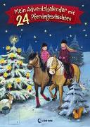 Cover-Bild zu Mein Adventskalender mit 24 Pferdegeschichten