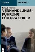 Cover-Bild zu eBook Verhandlungsführung für Praktiker