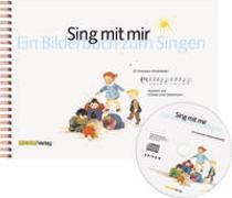 Cover-Bild zu Graf Heinimann, Christin (Gestaltet): Sing mit mir - Bilderbuch mit Audio CD