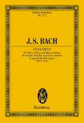 Cover-Bild zu Bach, Johann Sebastian (Komponist): Konzert E-Dur