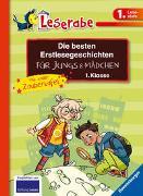 Cover-Bild zu Die besten Erstlesegeschichten für Jungs und Mädchen 1. Klasse mit toller Zaubertafel von Klein, Martin