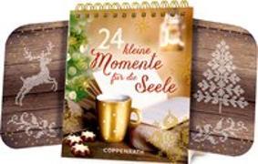 Cover-Bild zu Tischkalender - 24 kleine Momente für die Seele von NN