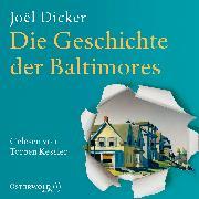 Cover-Bild zu Dicker, Joël: Die Geschichte der Baltimores