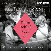 Cover-Bild zu Slimani, Leïla: Dann schlaf auch du (Audio Download)