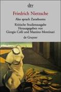 Cover-Bild zu Nietzsche, Friedrich: Also sprach Zarathustra I - IV