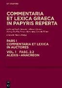 Cover-Bild zu Esposito, Elena (Hrsg.): Alexis - Anacreon (eBook)