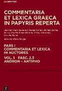 Cover-Bild zu Esposito, Elena (Hrsg.): Andron, Antimachus, Antiphon