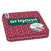 Cover-Bild zu Weihnachtliche Origami Faltblätter mit Designdose von frechverlag