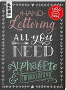 Cover-Bild zu Handlettering All you need. Die schönsten Alphabete und Schmuckelemente von frechverlag