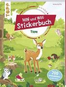 Cover-Bild zu Das Hin-und-weg-Stickerbuch. Tiere von frechverlag