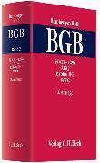 Cover-Bild zu Bd. 2: Kommentar zum Bürgerlichen Gesetzbuch Band 2: §§ 611 - 1296, AGG, ErbbauRG, WEG - Kommentar zum Bürgerlichen Gesetzbuch von Bamberger, Heinz Georg (Hrsg.)