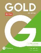 Cover-Bild zu New Gold First NE 2018 Coursebook and MEL pack