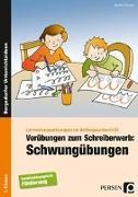 Cover-Bild zu Vorübungen zum Schreiberwerb: Schwungübungen von Konkow, Monika
