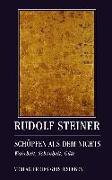 Cover-Bild zu Steiner, Rudolf: Schöpfen aus dem Nichts