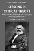 Cover-Bild zu Lessons in Critical Theory (eBook) von Aguirre Rojas, Carlos Antonio