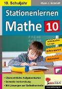 Cover-Bild zu Stationenlernen Mathe / Klasse 10 von Schmidt, Hans-J.