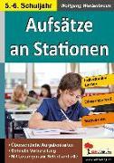 Cover-Bild zu Aufsätze an Stationen 5/6 von Wertenbroch, Wolfgang
