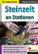 Cover-Bild zu Steinzeit an Stationen