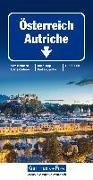 Cover-Bild zu Hallwag Kümmerly+Frey AG (Hrsg.): Österreich Strassenkarte. 1:500'000