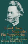 Cover-Bild zu Nora oder Ein Puppenheim von Ibsen, Henrik